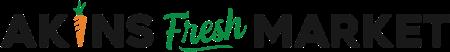 A theme logo of Akins Foods