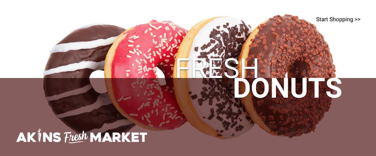 Akins Fresh Market | Fresh Donuts